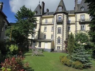 Le jardin du grand Hôtel du Mont-Dore