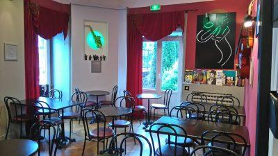 Salle petit-dejeuner du grand Hôtel Mont-Dore Auvergne