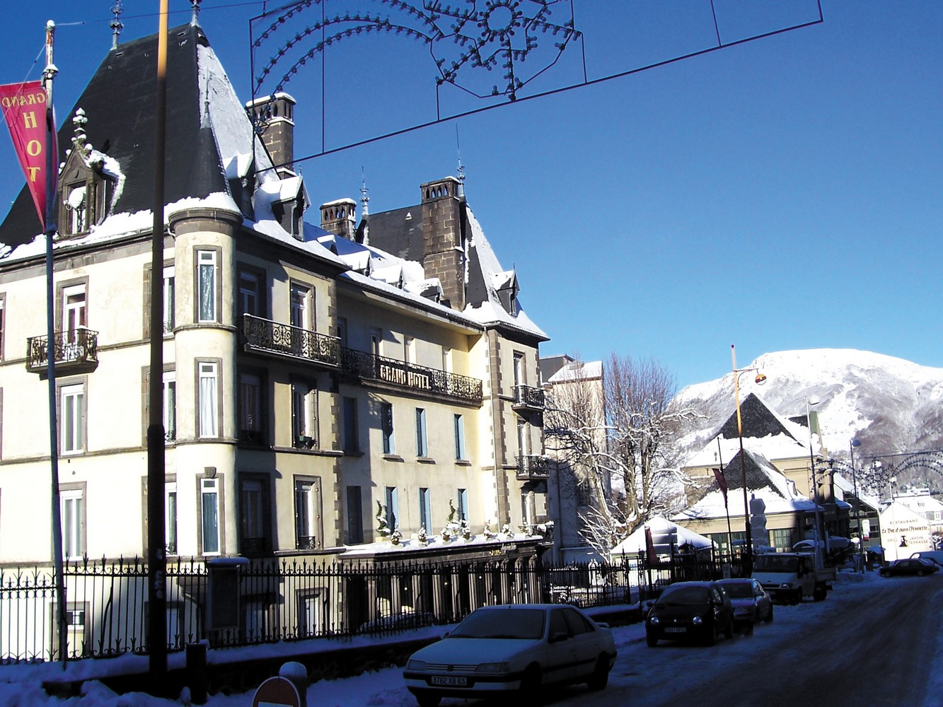 Grand Hotel Le Mont Dore > Décoration de l'hotel Jazz