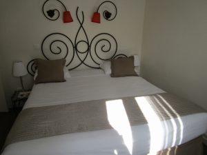 Une des chambres du grand Hôtel Du Mont-Dore