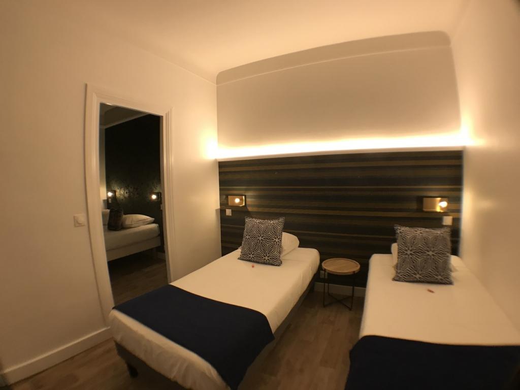 Grand Hotel Mont Dore CHAMBRE QUADRUPLE