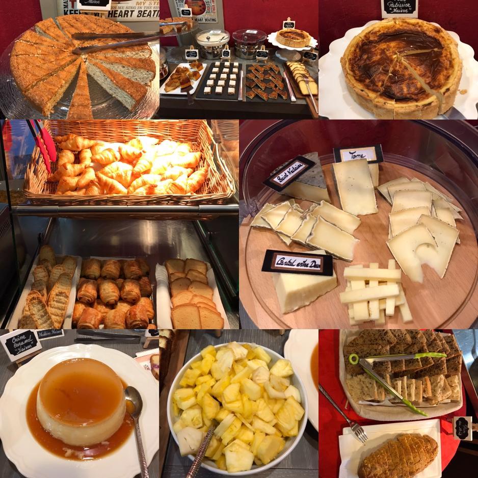1 - Salle petit-déjeuner Hôtel Mont Dore > buffet